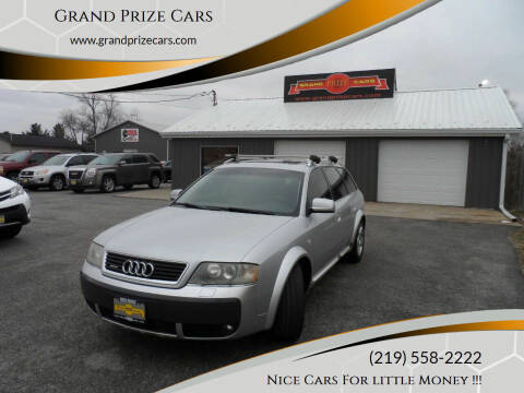 2004 Audi Allroad for sale at Grand Prize Cars in Cedar Lake IN