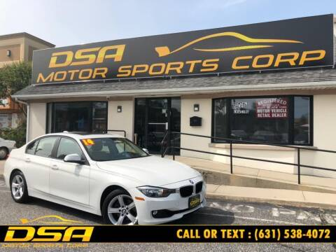 2014 BMW 3 Series for sale at DSA Motor Sports Corp in Commack NY