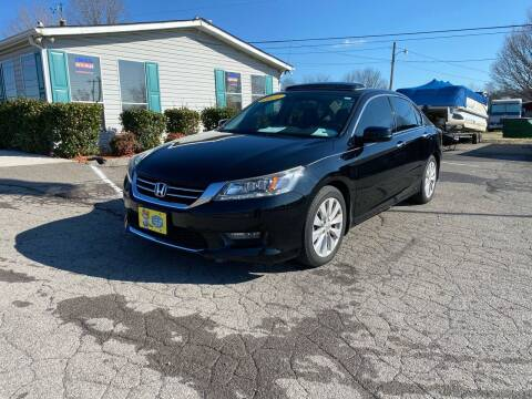 2014 Honda Accord for sale at Unique Auto Sales in Knoxville TN