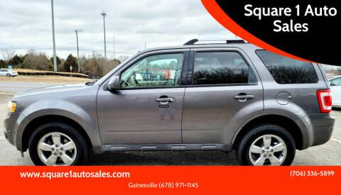 2011 Ford Escape for sale at Square 1 Auto Sales - Commerce in Commerce GA