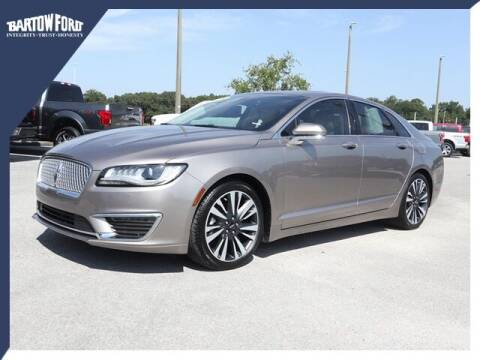 2018 Lincoln MKZ for sale at BARTOW FORD CO. in Bartow FL