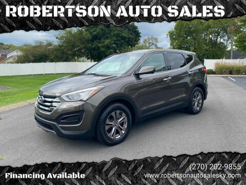 2014 Hyundai Santa Fe Sport for sale at ROBERTSON AUTO SALES in Bowling Green KY