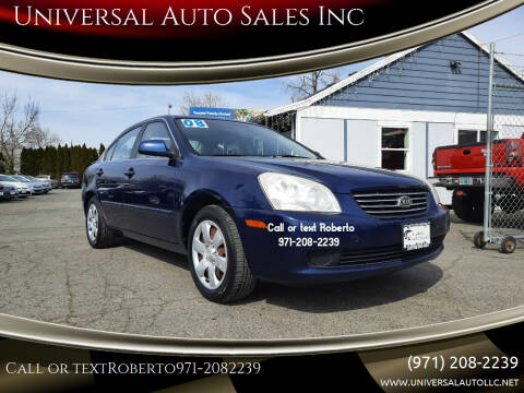 2008 Kia Optima for sale at Universal Auto Sales Inc in Salem OR