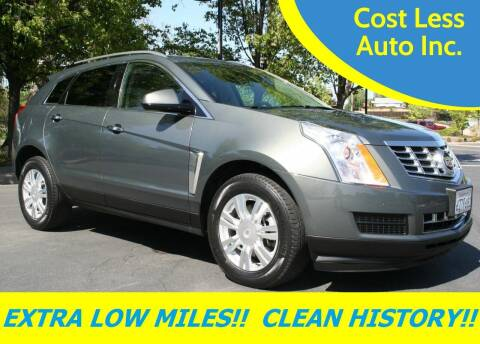 2013 Cadillac SRX for sale at Cost Less Auto Inc. in Rocklin CA