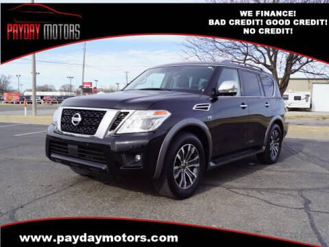 2020 Nissan Armada for sale at Payday Motors in Wichita And Topeka KS