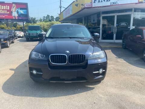 2009 BMW X6 for sale at Atlanta Fine Cars in Jonesboro GA