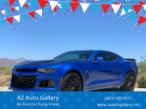 2016 Chevrolet Camaro for sale at AZ Auto Gallery in Mesa AZ