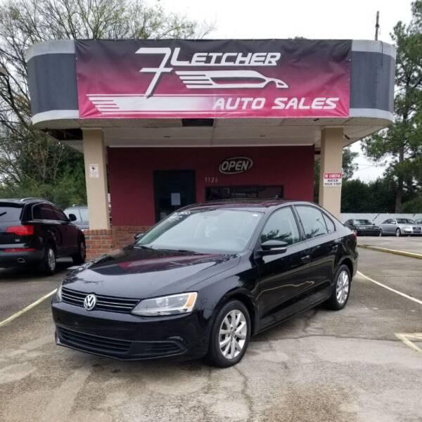 2012 Volkswagen Jetta for sale at Fletcher Auto Sales in Augusta GA