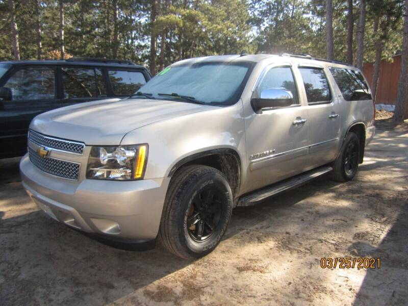 2010 Chevrolet Suburban for sale at SUNNYBROOK USED CARS in Menahga MN