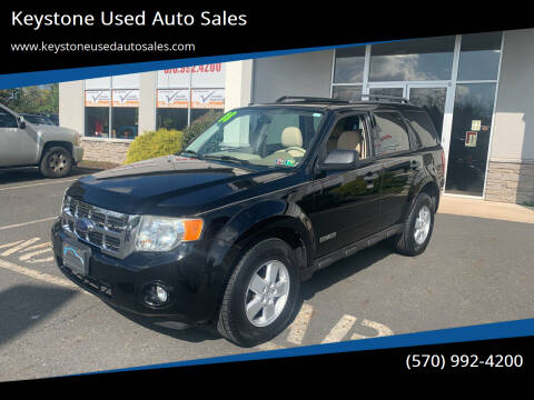 2008 Ford Escape for sale at Keystone Used Auto Sales in Brodheadsville PA
