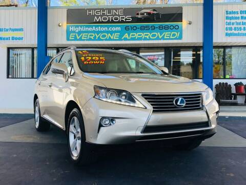 2015 Lexus RX 350 for sale at Highline Motors in Aston PA