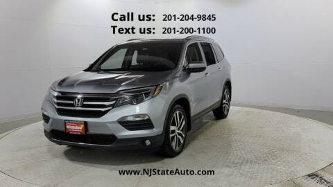 2016 Honda Pilot for sale at NJ State Auto Used Cars in Jersey City NJ