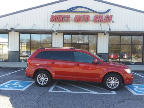 2015 Dodge Journey for sale at DOUG'S AUTO SALES INC in Pleasant View TN