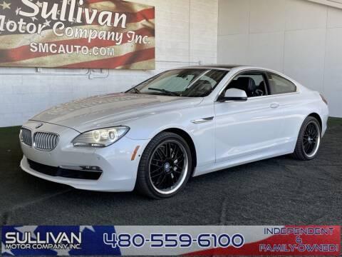 2012 BMW 6 Series for sale at SULLIVAN MOTOR COMPANY INC. in Mesa AZ