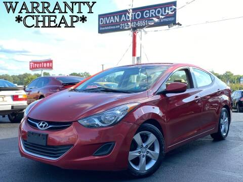 2011 Hyundai Elantra for sale at Divan Auto Group in Feasterville PA