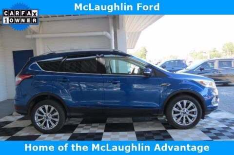 2018 Ford Escape for sale at McLaughlin Ford in Sumter SC