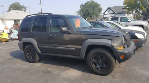 2005 Jeep Liberty for sale at BRAMBILA MOTORS in Pocatello ID