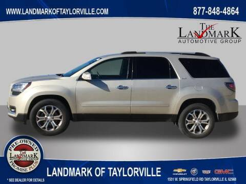2013 GMC Acadia for sale at LANDMARK OF TAYLORVILLE in Taylorville IL