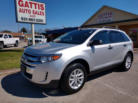 2013 Ford Edge for sale at Gattis Auto Sales LLC in Winchester TN