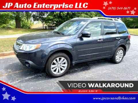 2011 Subaru Forester for sale at JP Auto Enterprise LLC in Duluth GA
