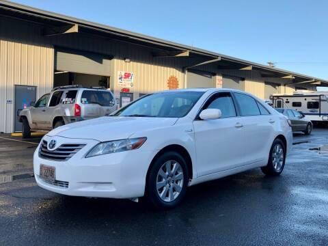 2007 Toyota Camry Hybrid for sale at DASH AUTO SALES LLC in Salem OR
