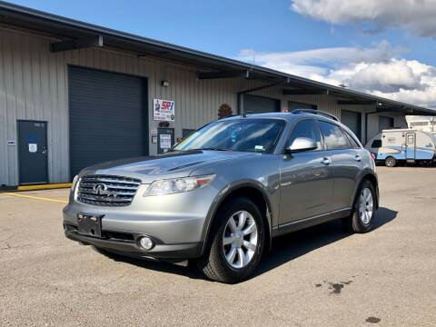 2005 Infiniti FX35 for sale at DASH AUTO SALES LLC in Salem OR