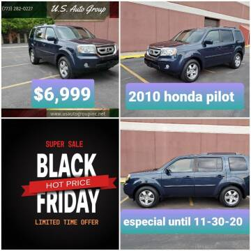 2010 Honda Pilot for sale at U.S. Auto Group in Chicago IL