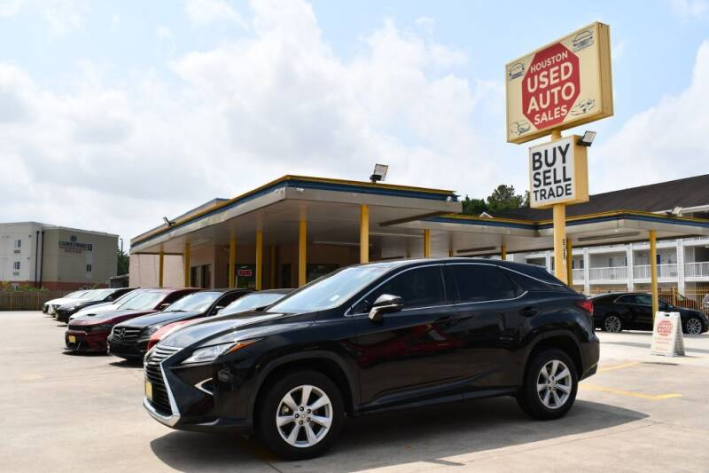 2017 Lexus RX 350 for sale at Houston Used Auto Sales in Houston TX