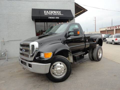 2004 Ford F-650 Super Duty for sale at FAIRWAY AUTO SALES, INC. in Melrose Park IL