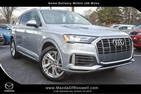 2020 Audi Q7 for sale at Mazda Of Roswell in Roswell GA