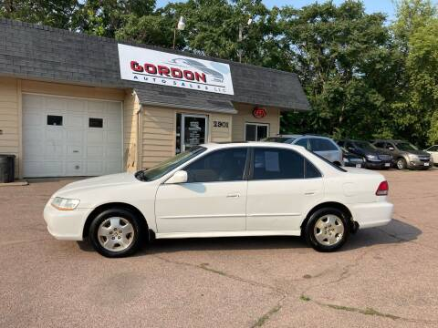 2001 Honda Accord for sale at Gordon Auto Sales LLC in Sioux City IA
