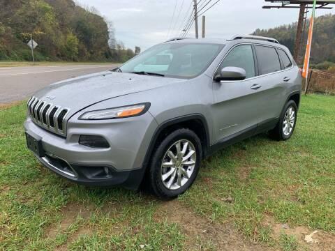 2014 Jeep Cherokee for sale at ABINGDON AUTOMART LLC in Abingdon VA