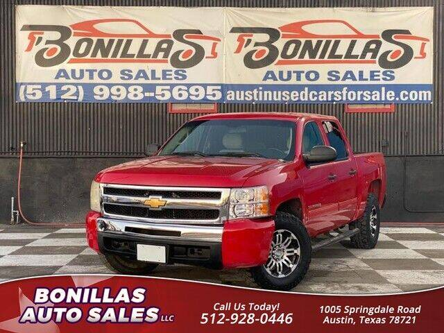 2010 Chevrolet Silverado 1500 for sale at Bonillas Auto Sales in Austin TX