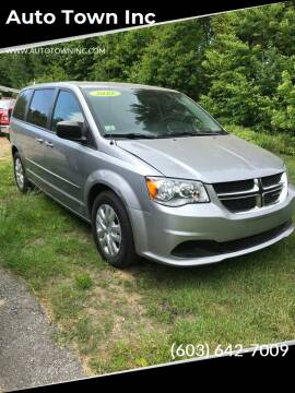 2015 Dodge Grand Caravan for sale at Auto Town Inc in Brentwood NH