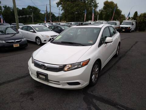 2012 Honda Civic for sale at P J McCafferty Inc in Langhorne PA