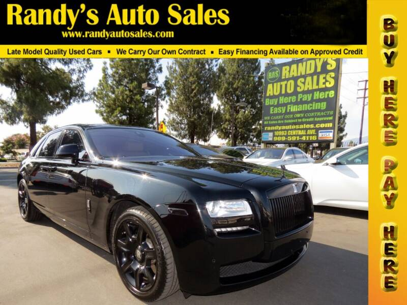 2014 Rolls-Royce Ghost for sale at Randy's Auto Sales in Ontario CA