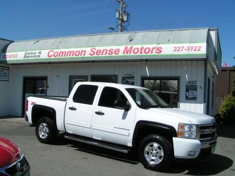 2011 Chevrolet Silverado 1500 for sale at Common Sense Motors in Spokane WA