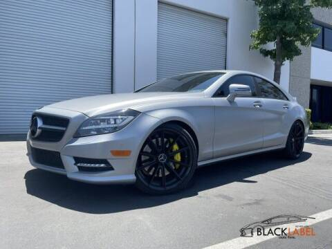 2014 Mercedes-Benz CLS for sale at BLACK LABEL AUTO FIRM in Riverside CA