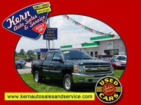 2013 Chevrolet Silverado 1500 for sale at Kern Auto Sales & Service LLC in Chelsea MI