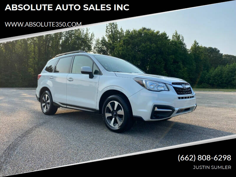 2017 Subaru Forester for sale at ABSOLUTE AUTO SALES INC in Corinth MS