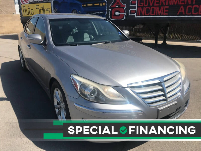 2013 Hyundai Genesis for sale at Rock Star Auto Sales in Las Vegas NV