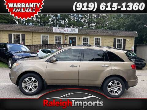2007 Acura MDX for sale at Raleigh Imports in Raleigh NC