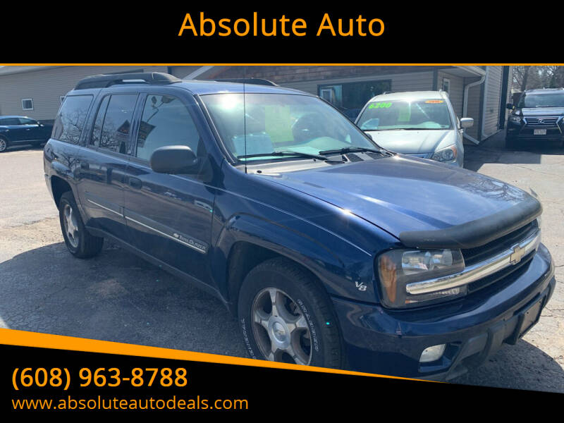 2004 Chevrolet TrailBlazer EXT for sale at Absolute Auto in Baraboo WI