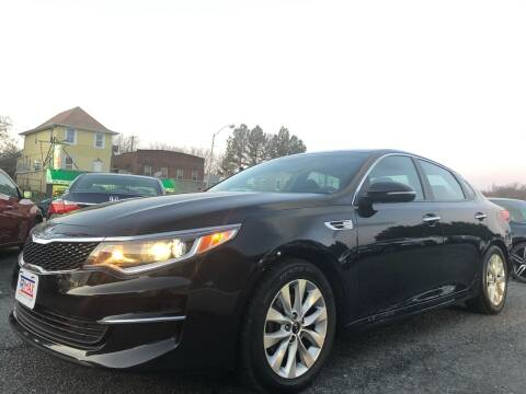 2017 Kia Optima for sale at Trimax Auto Group in Baltimore MD