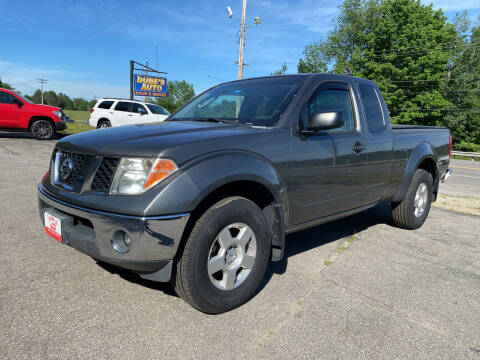 2008 Nissan Frontier for sale at Dubes Auto Sales in Lewiston ME