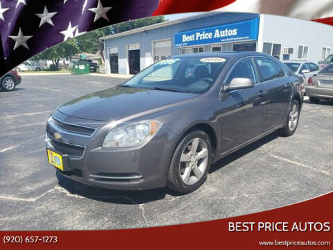 2011 Chevrolet Malibu for sale at Best Price Autos in Two Rivers WI