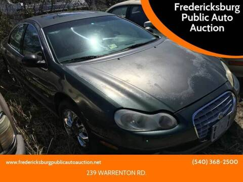 2000 Chrysler LHS for sale at FPAA in Fredericksburg VA