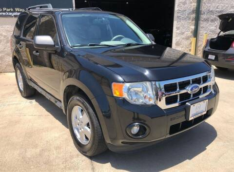 2011 Ford Escape for sale at KAYALAR MOTORS Mechanic in Houston TX