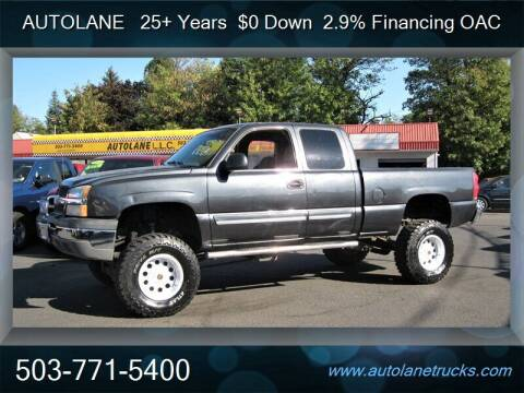 2003 Chevrolet Silverado 1500 for sale at Auto Lane in Portland OR