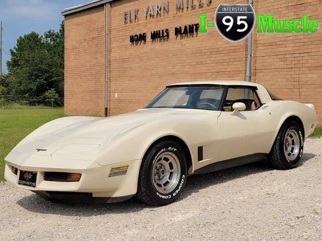 1981 Chevrolet Corvette for sale at I-95 Muscle in Hope Mills NC